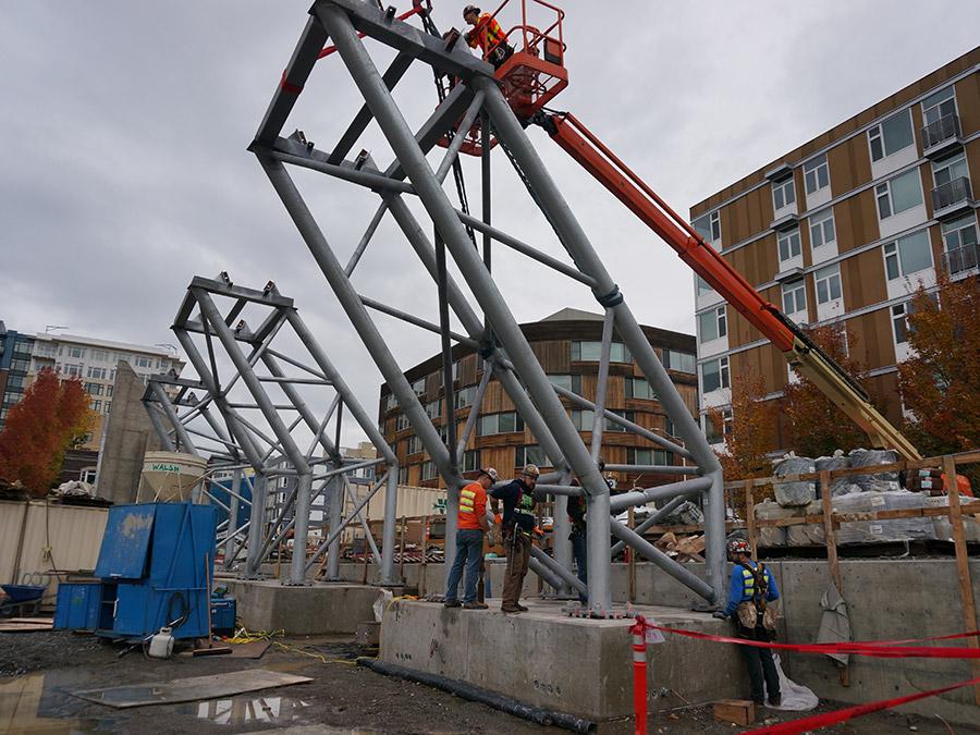 Structural Steel Crane